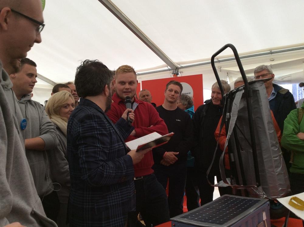 Anders Lund Madsen interviewer vinderne