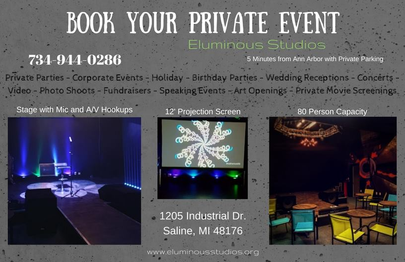 BOOK YOUR EVENT WITH US!