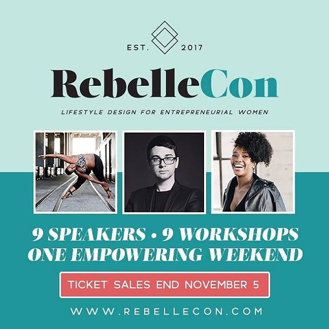 Get em while they are hot!!! Today is the last day for tickets to @rebellecon #rebellecon #rva #bossbabes