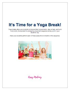 Yoga Break accessible PDF