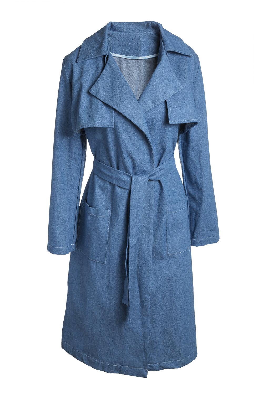 DENIM BLUE  // 100% cotton.