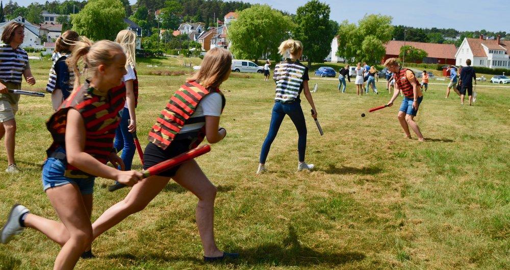 Bli kjent- dagen innebar konkurranser av mange slag, og det sto ikke på innsatsen til elevene.