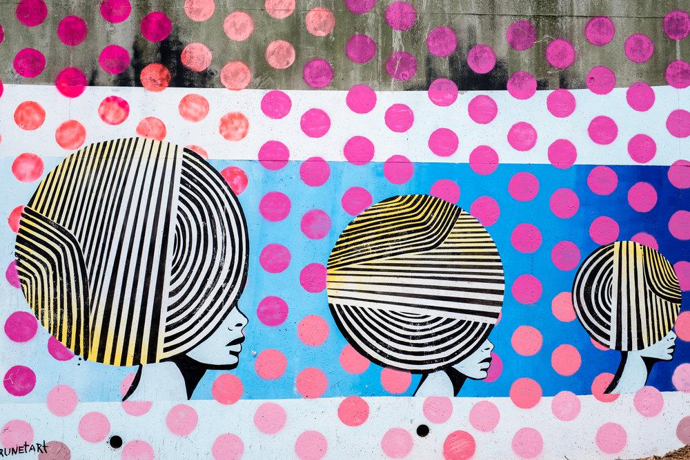 Mural by Lela Brunet