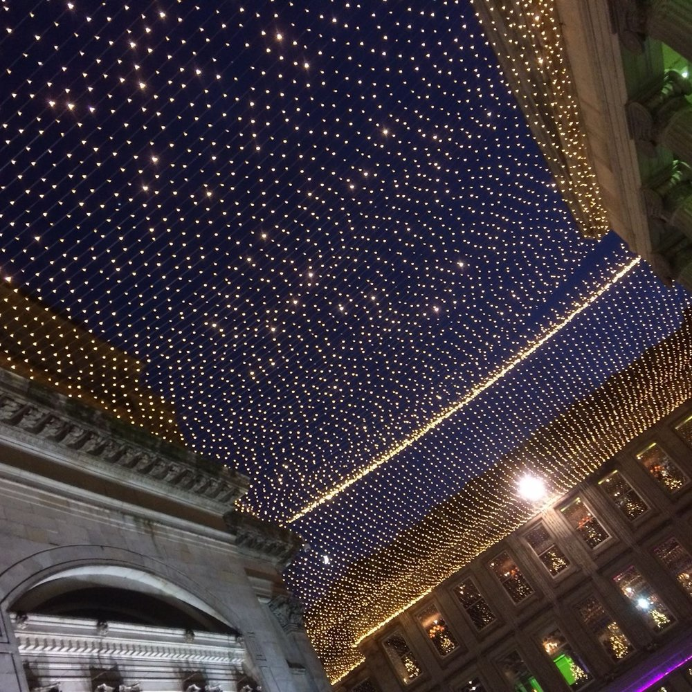 Lights in Royal Exchange Square