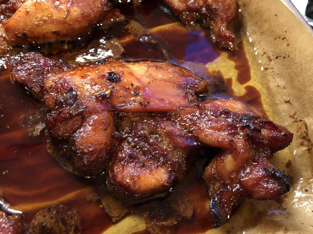 Maple Miso Chicken Thighs