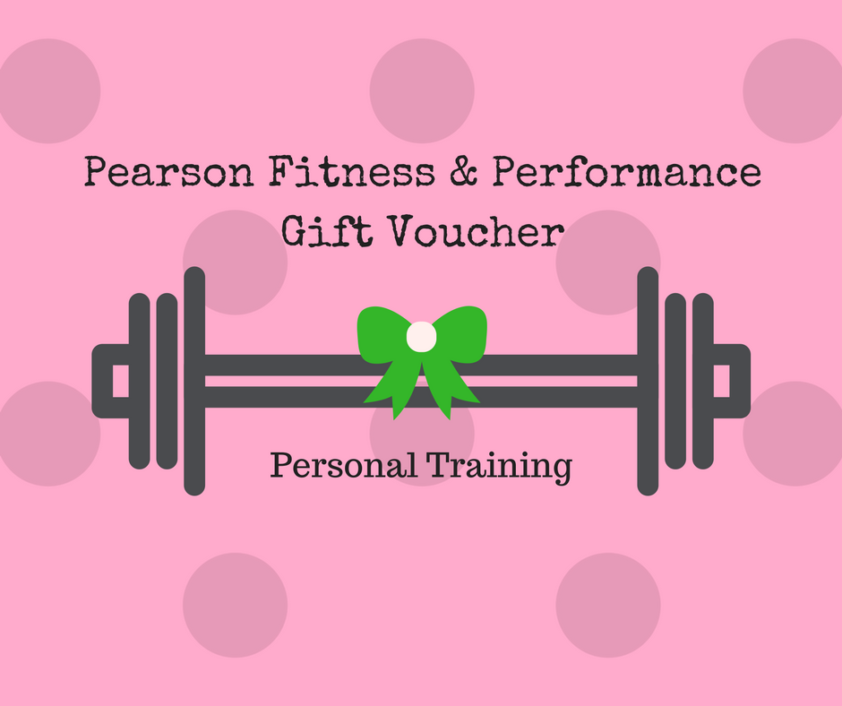 Gift Voucher Personal Training Pearson Fitness And Performance