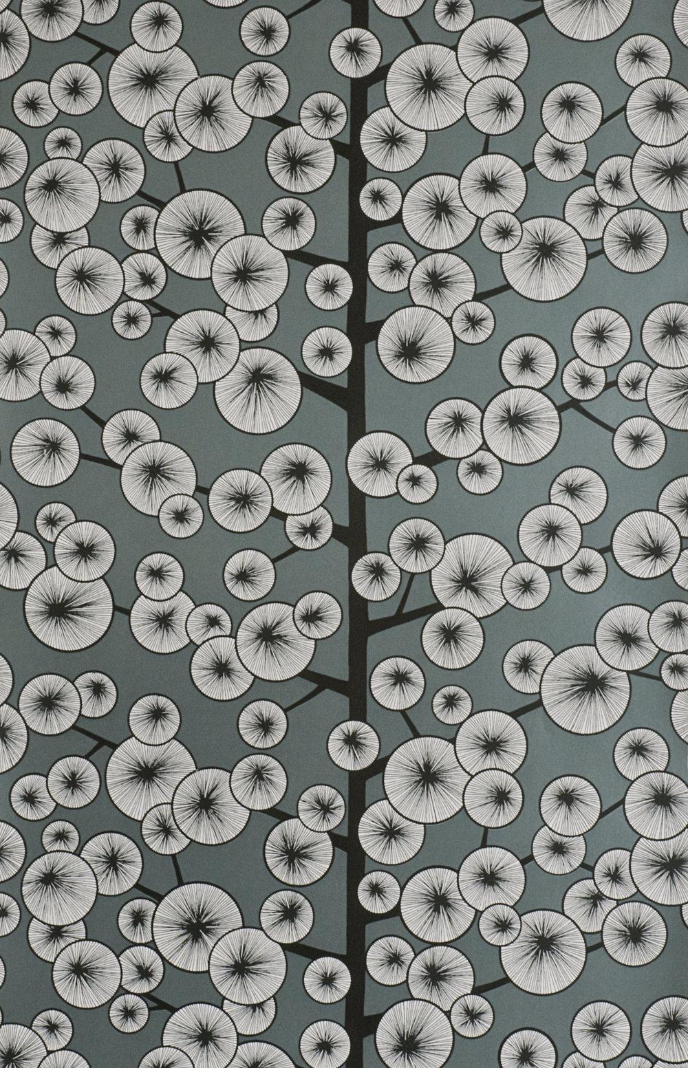 Miss Prints | Cotton Tree Gunmetal