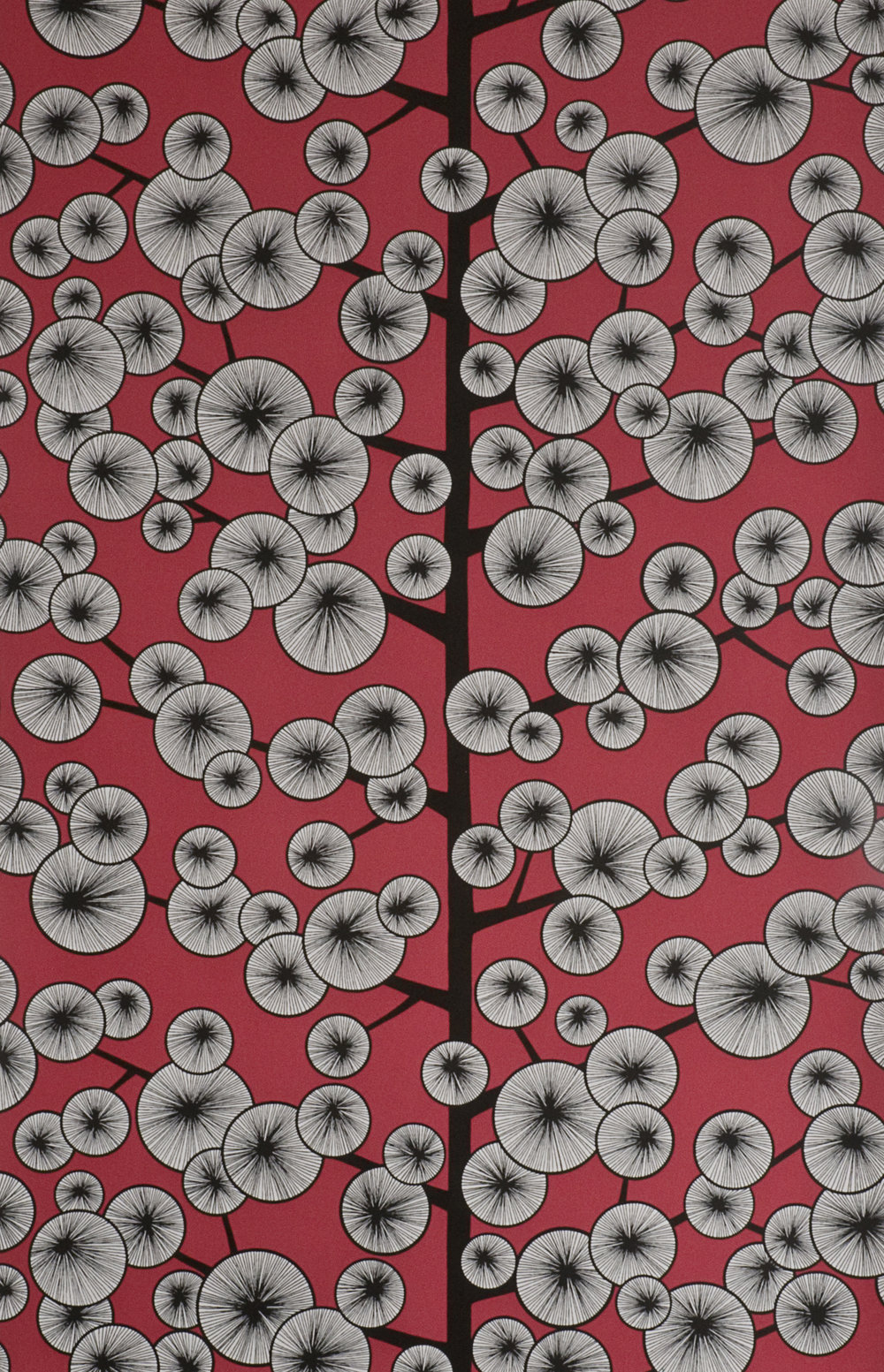 Miss Prints | Cotton Tree Snapdragon Red