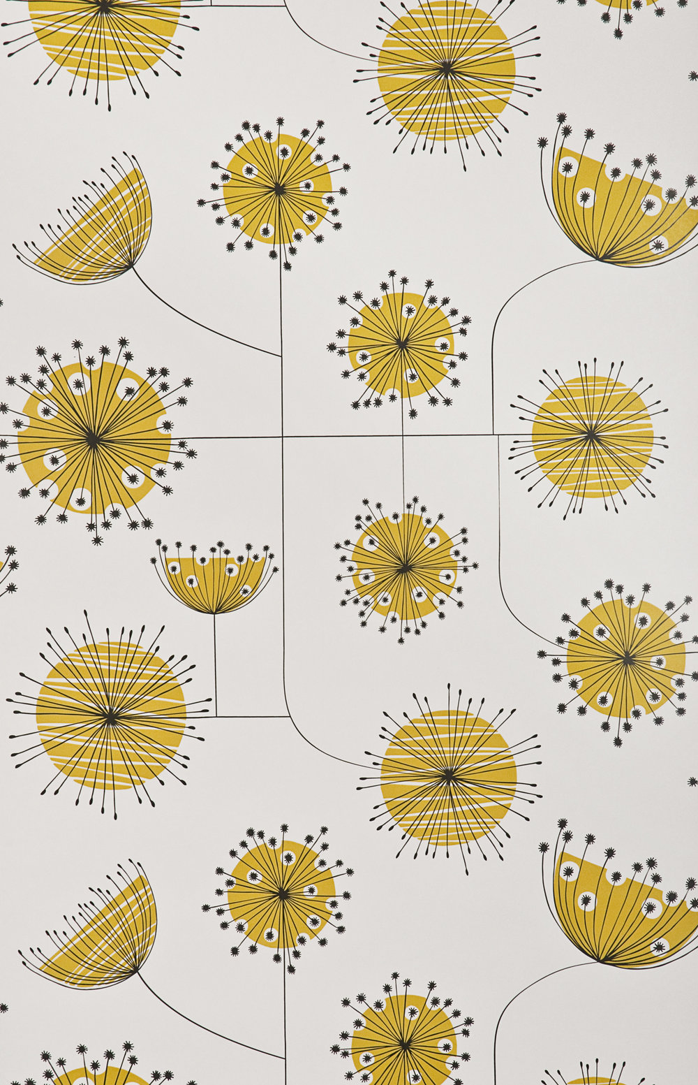 Miss Prints | Dandelion Mobile Porcelain with Yellow