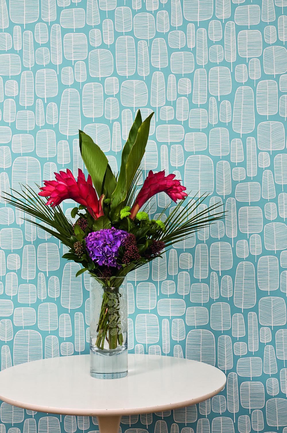 Miss Prints | Little Trees Cornflower Lifestyle