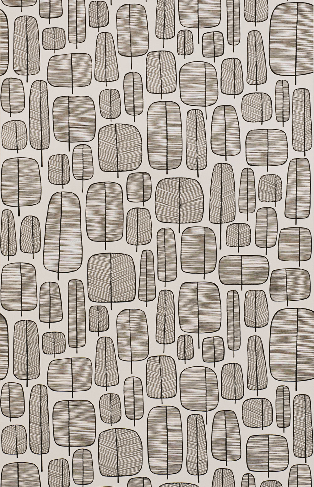 Miss Prints | Little Trees Monochrome