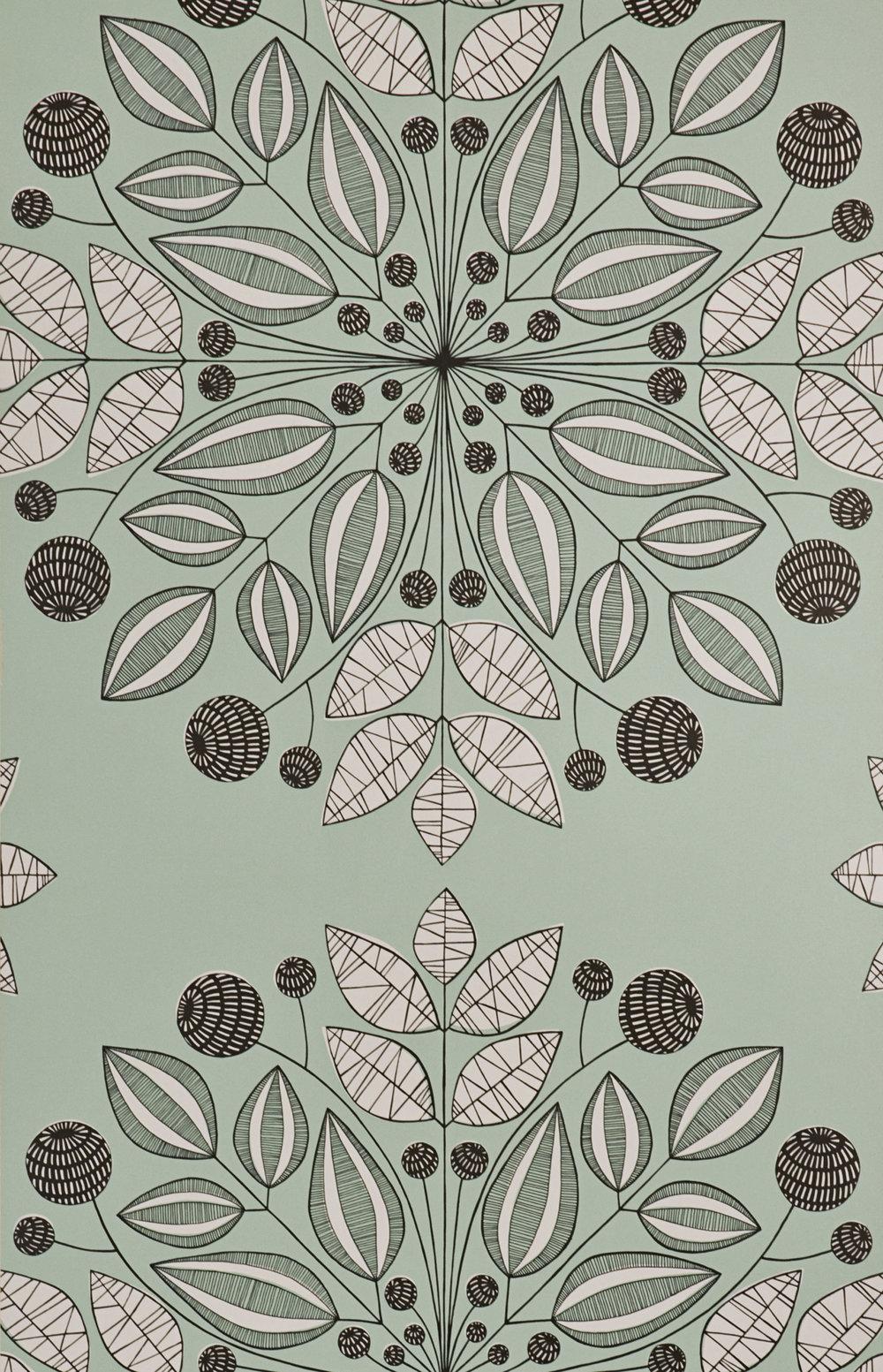 Miss Prints | Kaleidoscope Peppermint