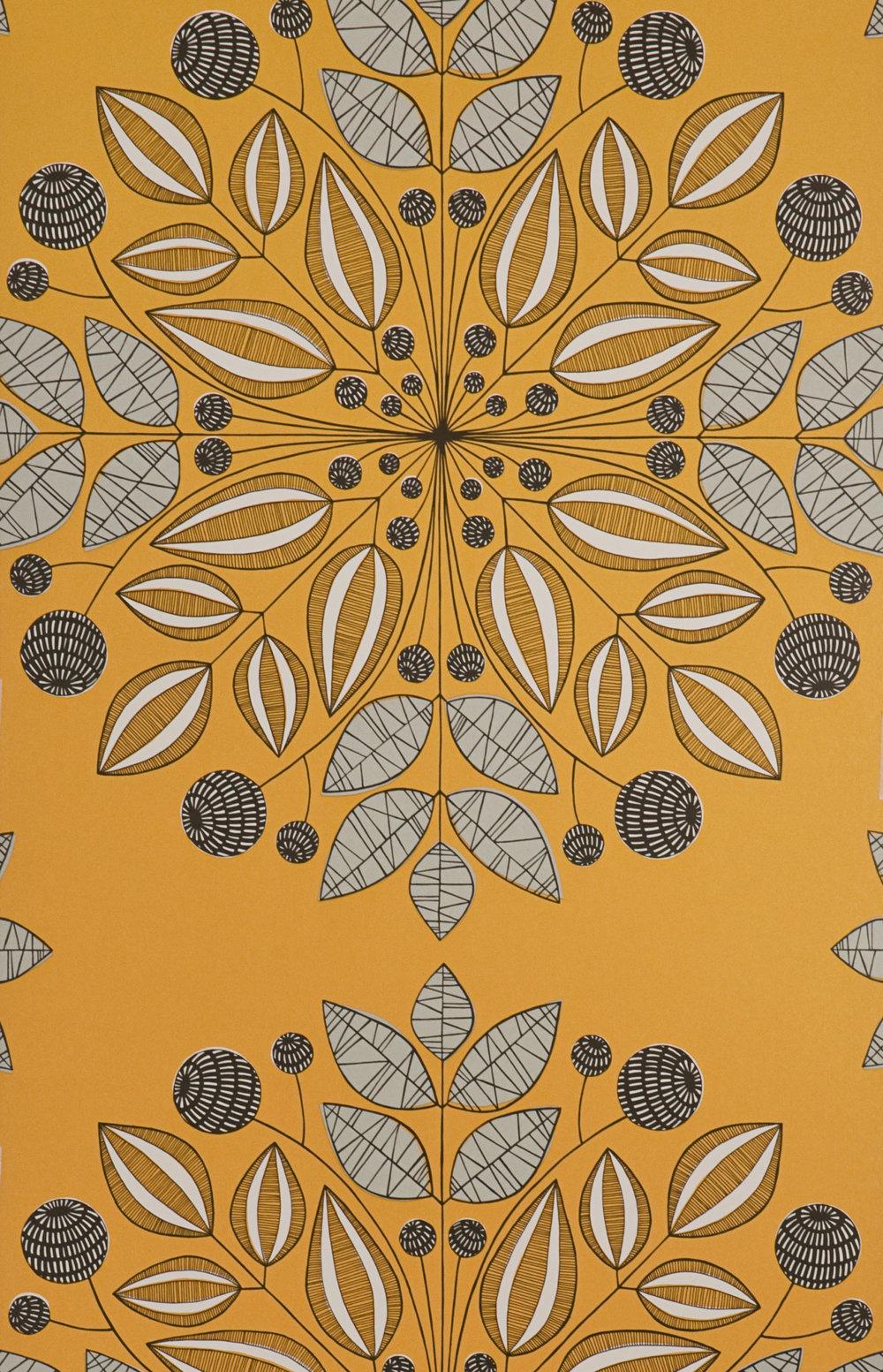Miss Prints | Kaleidoscope Pumpkin