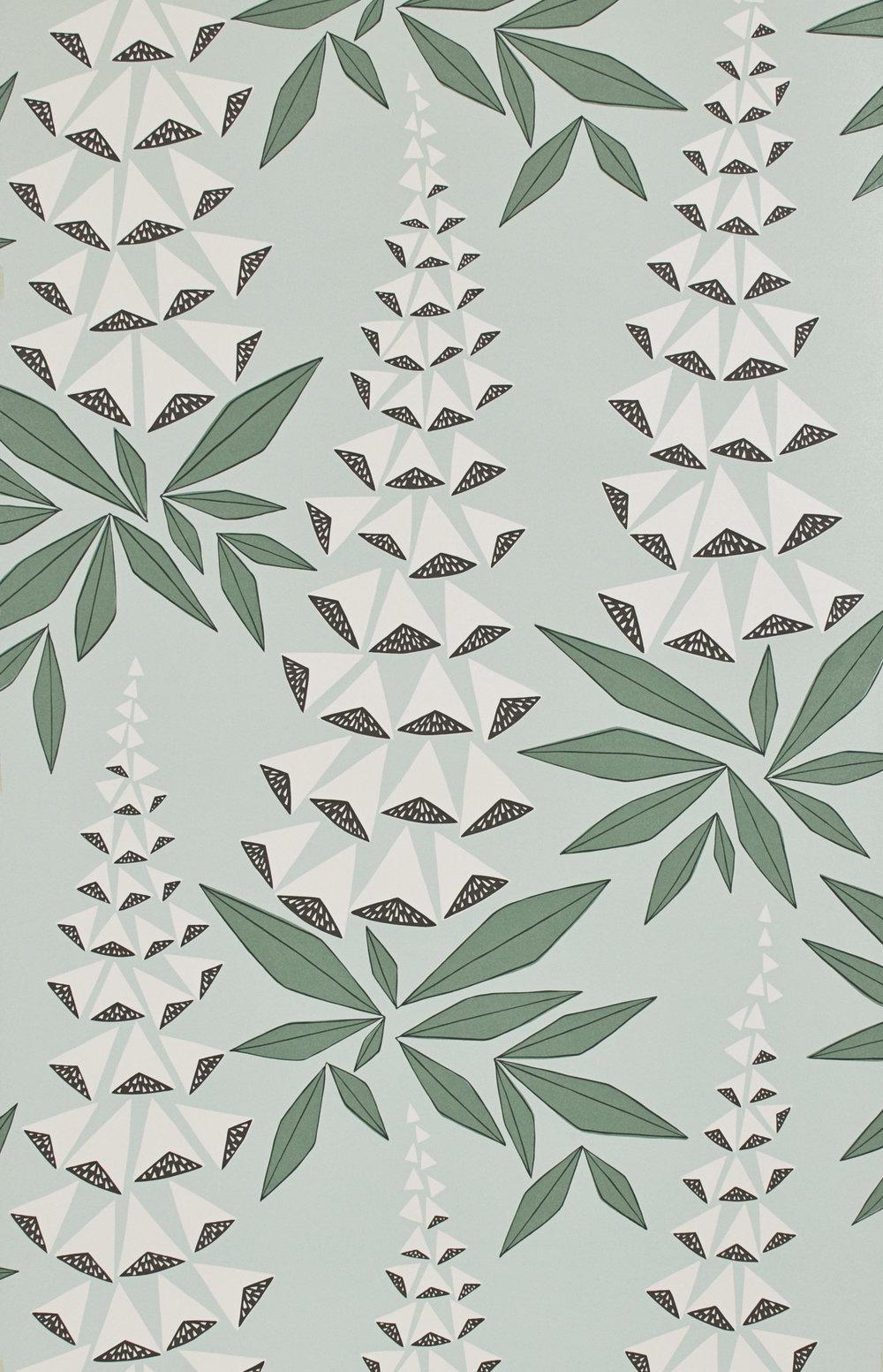 Miss Prints | Foxglove Jade