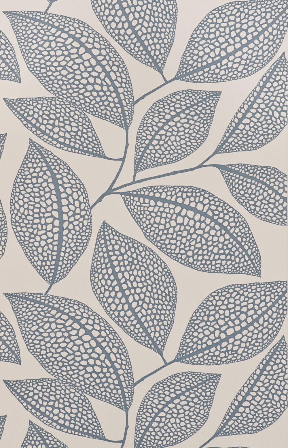 Miss Prints | Pebble Leaf Boathouse Blue
