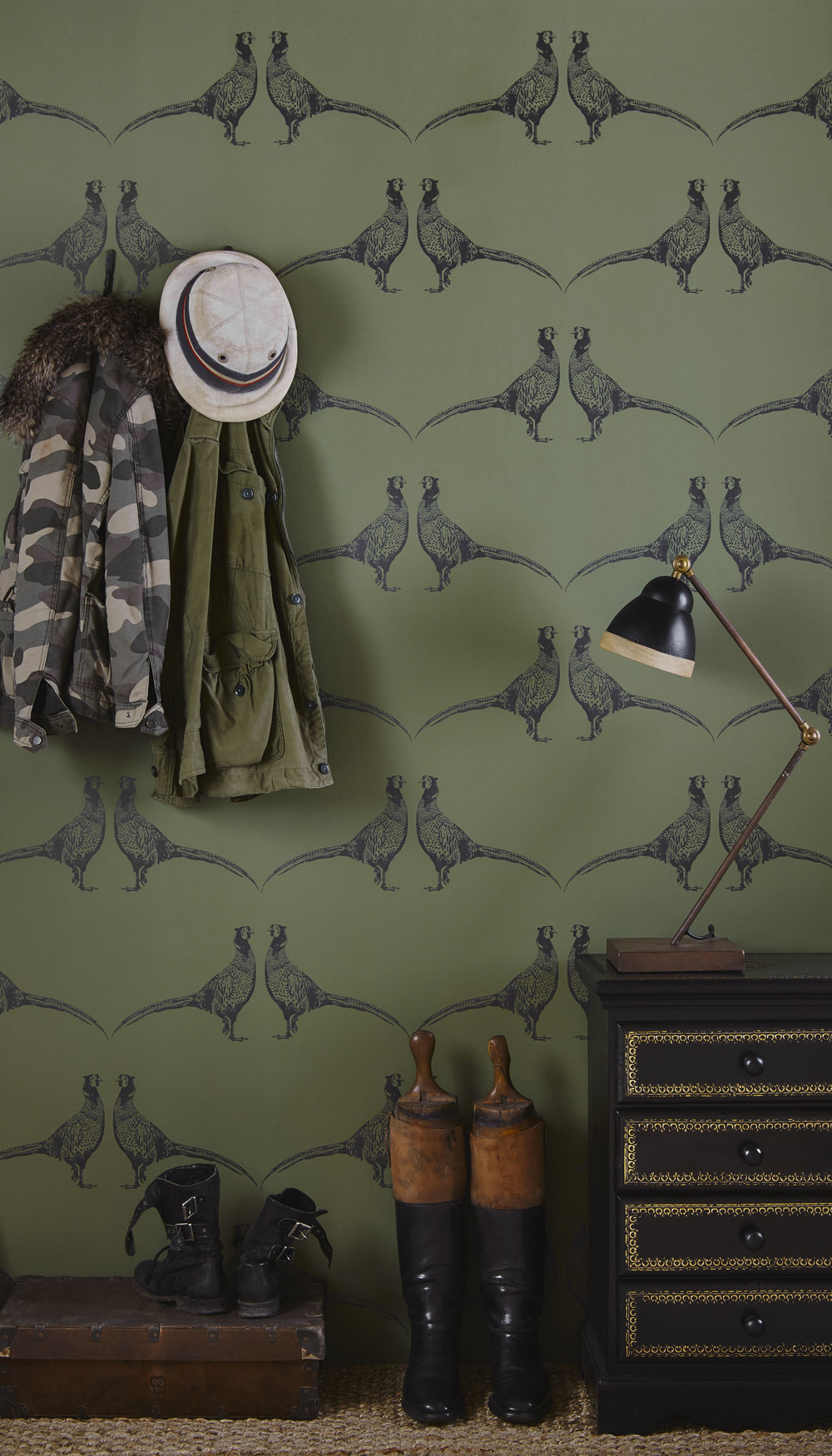 Barneby Gates - Pheasant - Camo Green - Set shot 1.jpg