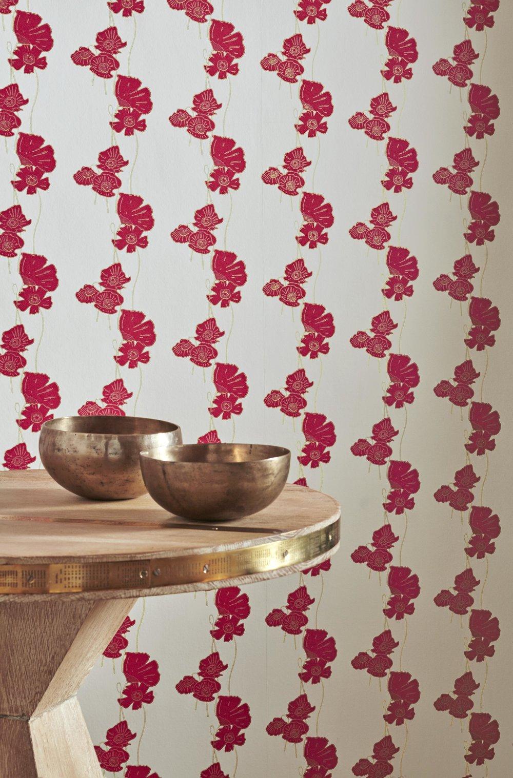 Barneby Gates - Poppy Fields - Red-Gold - Set shot - Detail.jpg