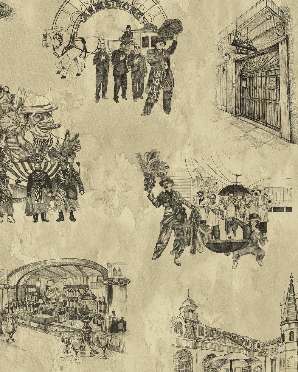 New Orleans Toile - Backstreets Black and Gold Tight.jpg