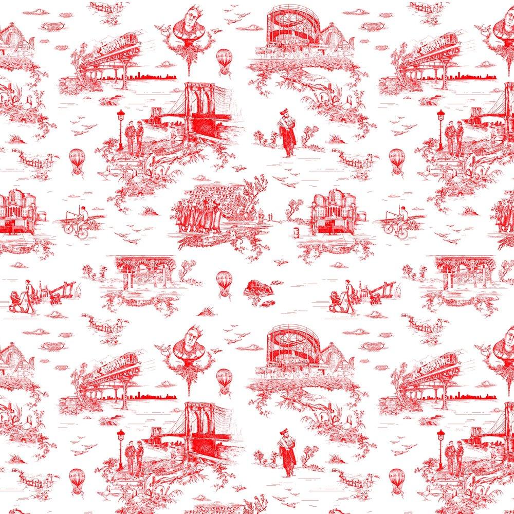 Brooklyn Toile Diamond Red.jpg