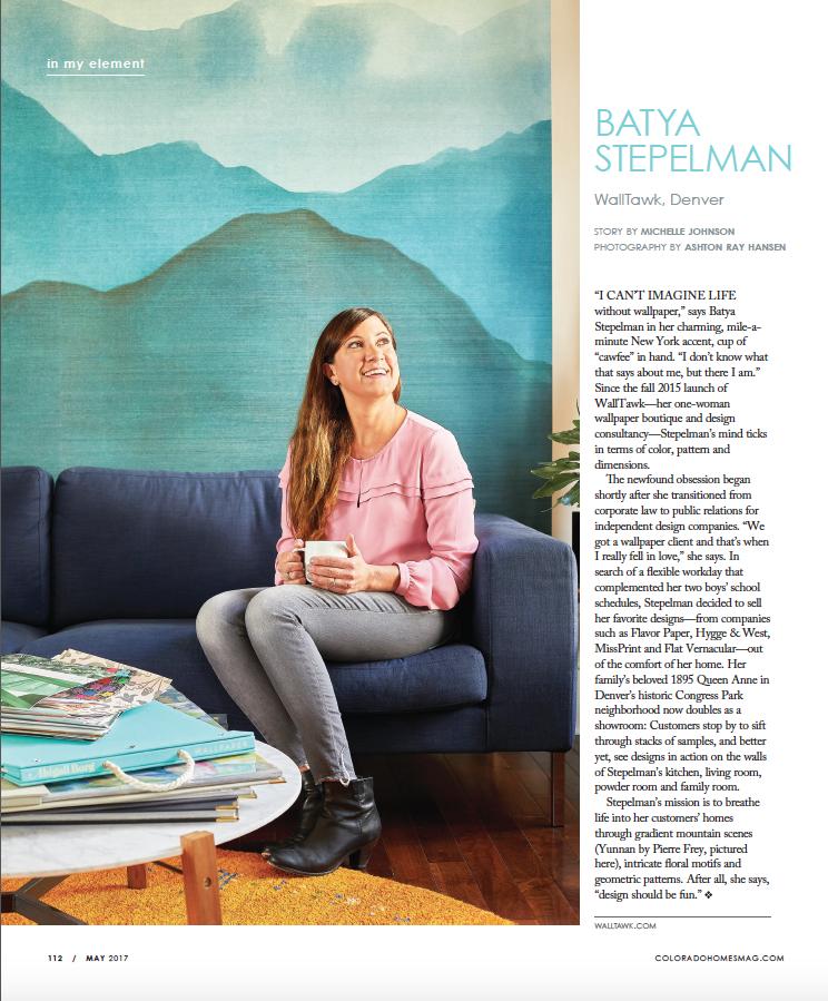 http://www.coloradohomesmag.com/Life/Batya-Stepelman-Wallpaper-Maven/