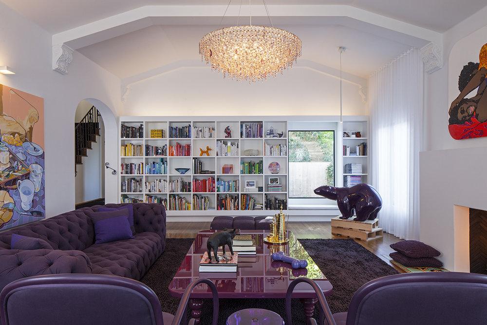 LOS FELIZ HOUSE, CA.BY GHISLAINE VIÑAS.ARCHITECT: CHET CALLAHAN  | PHOTO: ART GRAY