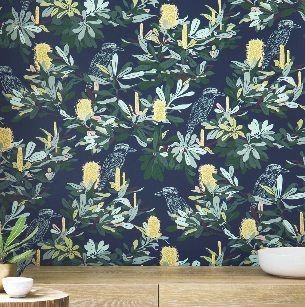WALLPAPER BANKSIA NAVY LONGSHOT.jpg