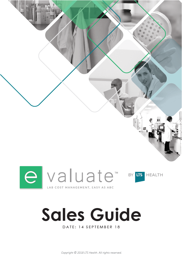 e-Valuate™ Sales Guide