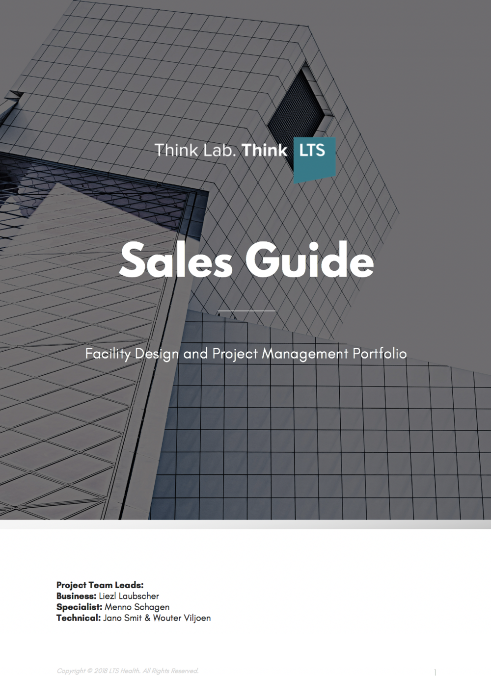 Facility Design - Sales Guide