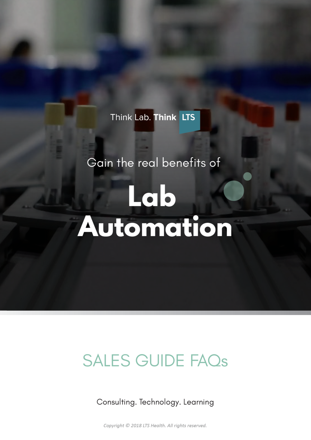 Lab Automation - Sales Guide FAQS