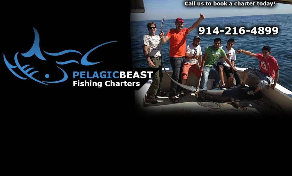 Pelagic Beast Captain Jason Spina has graciously donated a 4 hour/6person Charter for us to raffle off for the tournament!!!  Check them out at www.pelagicbeast.com