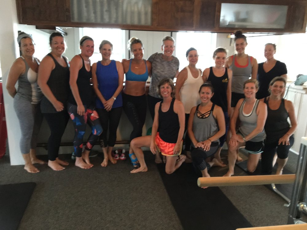 We love when guest instructors visit! Thanks Jacki from pulse in newport, ri! Amazing class!