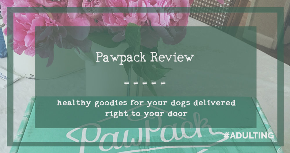 pawpack review subscription dog pup mansbestfriend