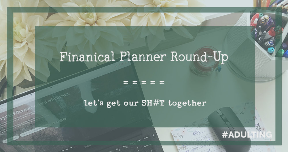 financial budgeting planner goals money save round-up adulting