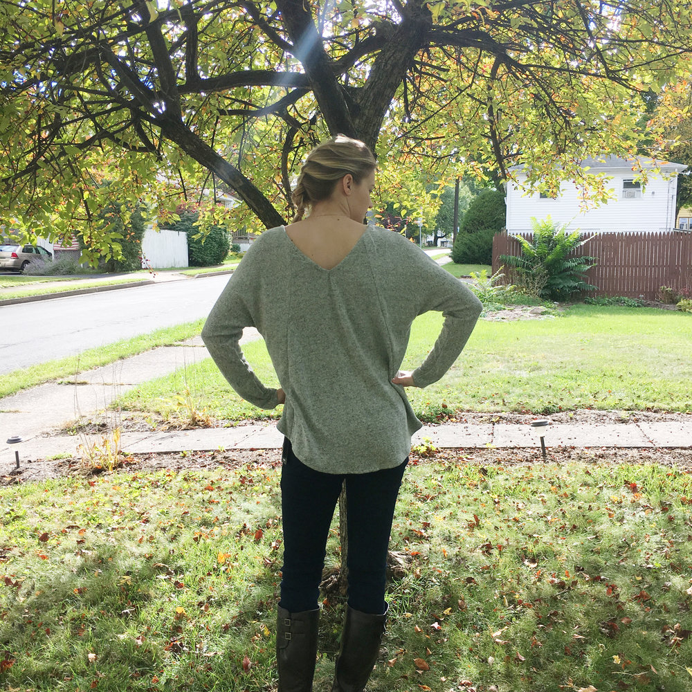 Max Threads Kelty Lace Trim Knit Top | Stitch Fix | subscription styling
