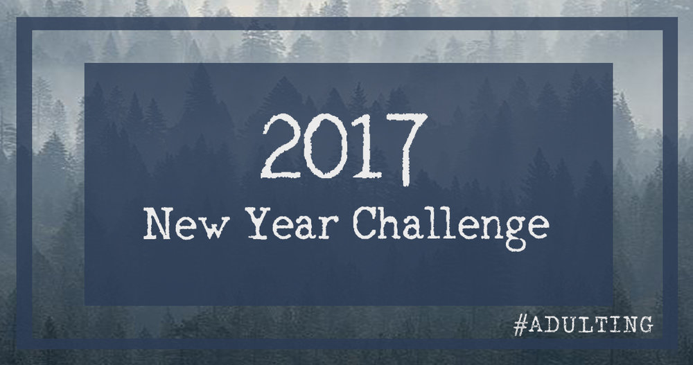 #adulting | new year 2017 goal inspiration community adulthood family love resolution