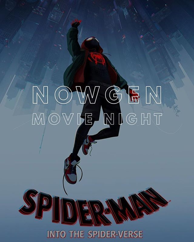 6th-12th Graders! Tomorrow night is our last NowGen before Spring Break and we are having a movie night! We are watching Spider-Man: Into the Spiderverse. We will be starting the movie at 6:30 tomorrow so get there early! And high schoolers are invited to join us at Alpine Applebee's afterward! See you then!