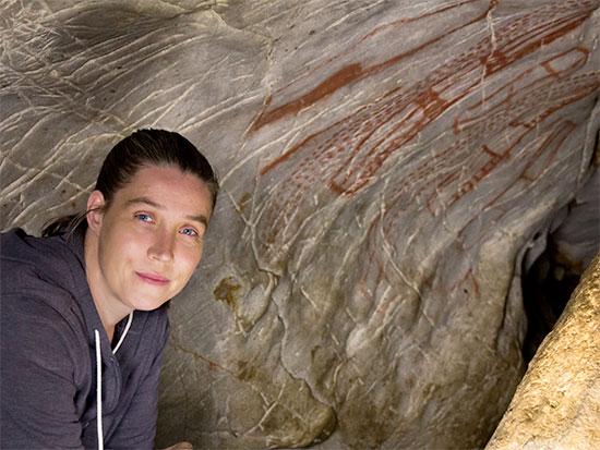 Paleoanthropologist Genevieve Petzinger