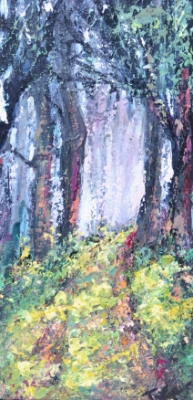 Follow the Light 10 x 20 Acrylic Painting   $495    Email  for more info
