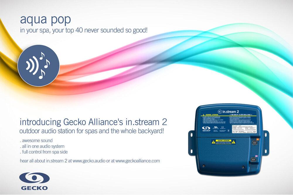 Affiche promo pop du in.stream 2 de Gecko