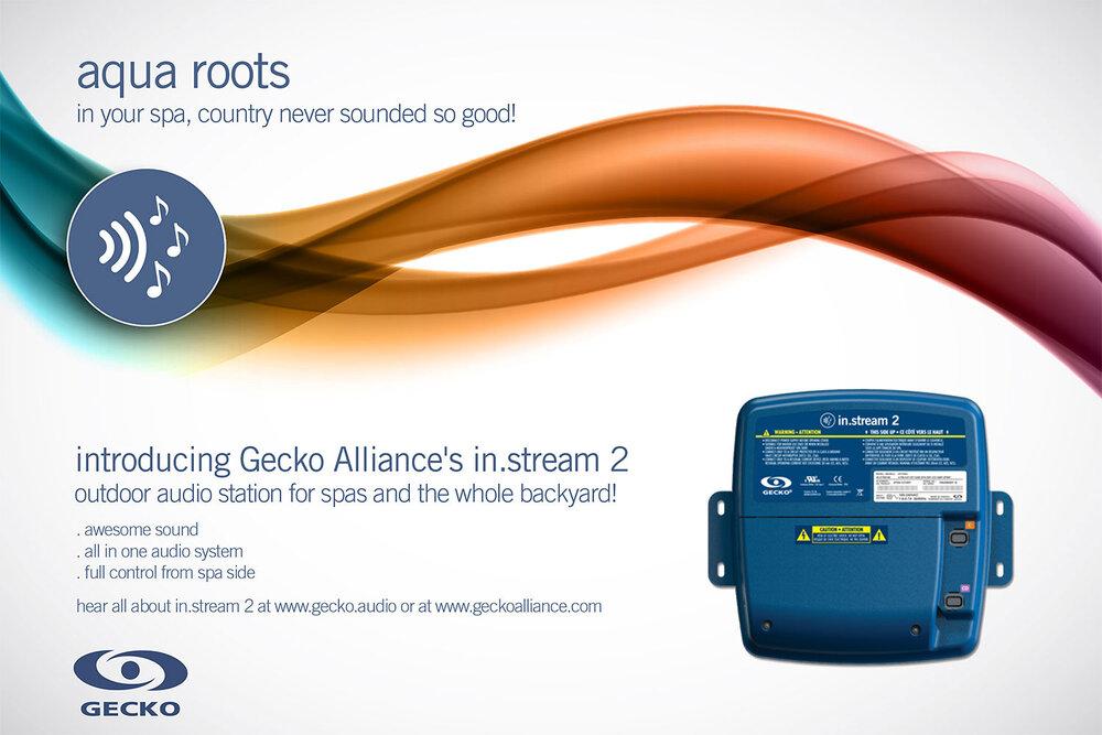 Affiche promo country du in.stream 2 de Gecko