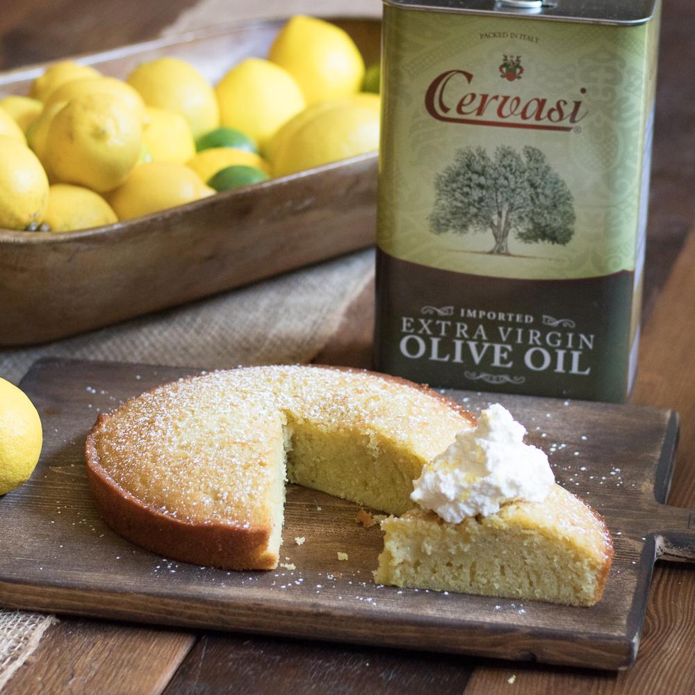 Easy Olive Oil Cake