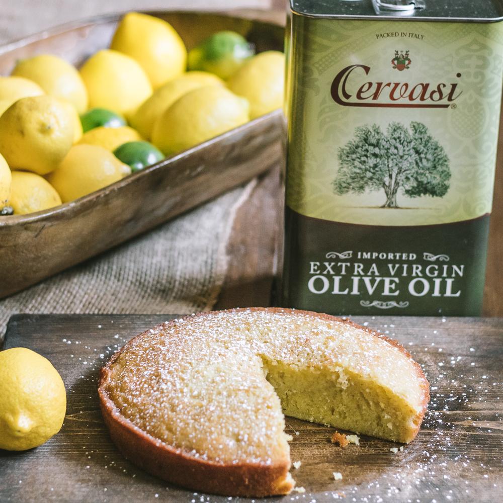 Olive Oil Cake Cervasi