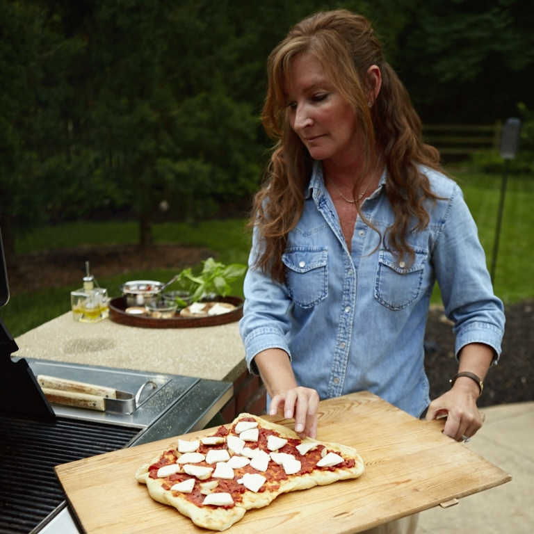 Grilled Pizza Tips