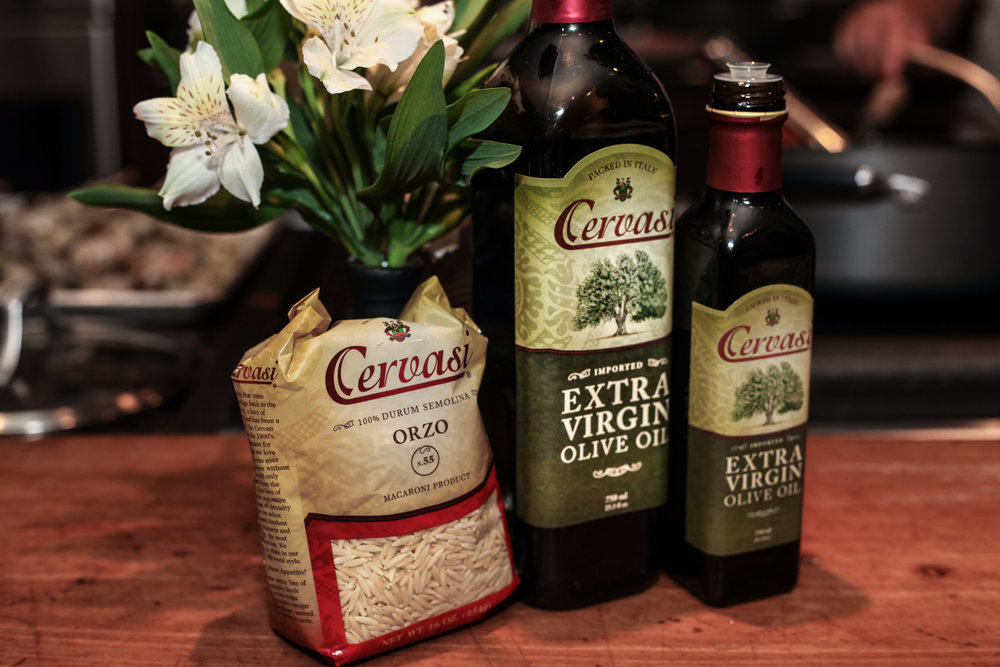 Cervasi Orzo and Extra Virgin Olive Oil