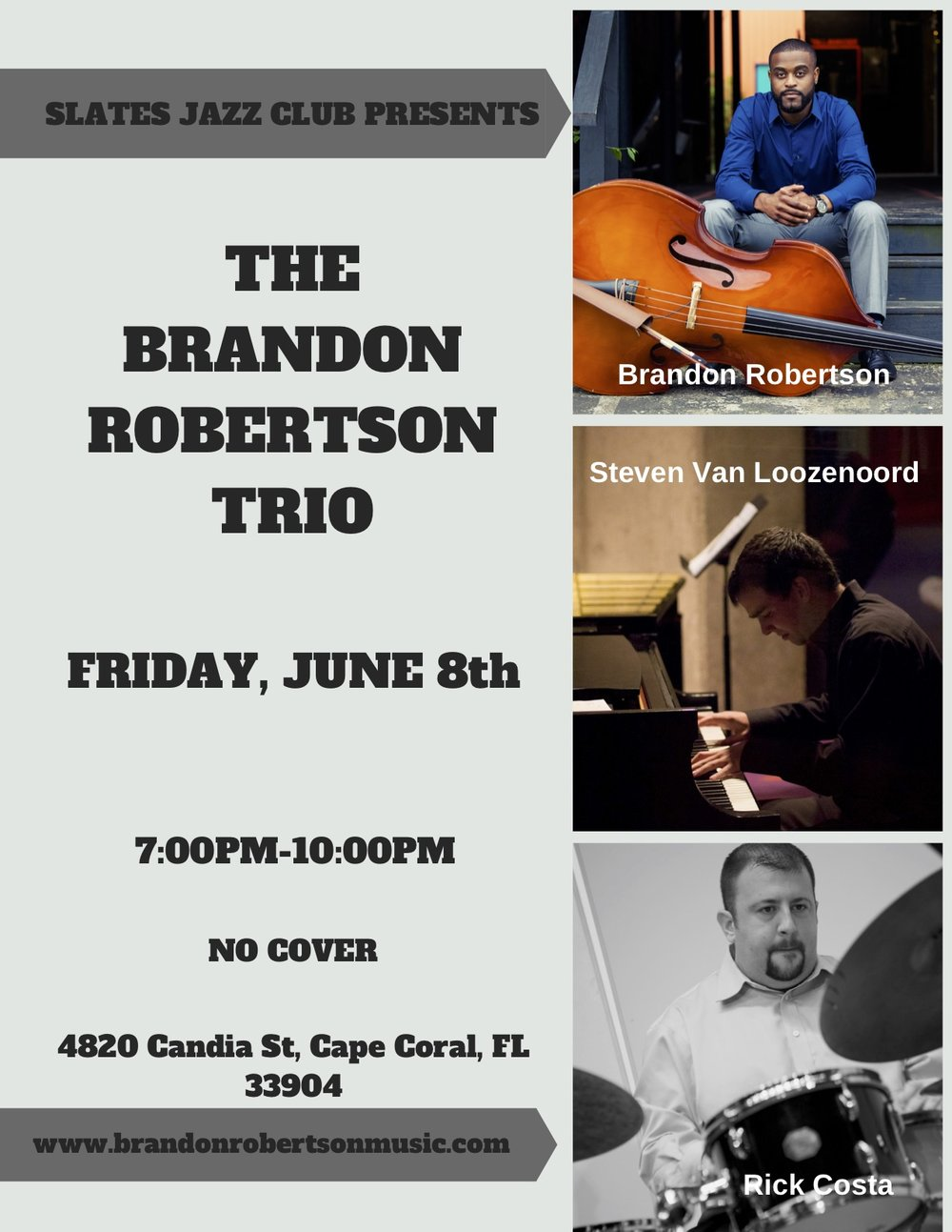 BRANDON ROBERTSON TRIO SLATES JAZZ CLUB 6:8:18.jpg