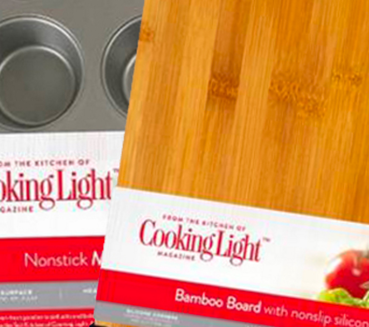 How did we identify the right food and lifestyle brand that authentically translated to a leading manufacturer's innovative line of cooking and kitchen utensils?