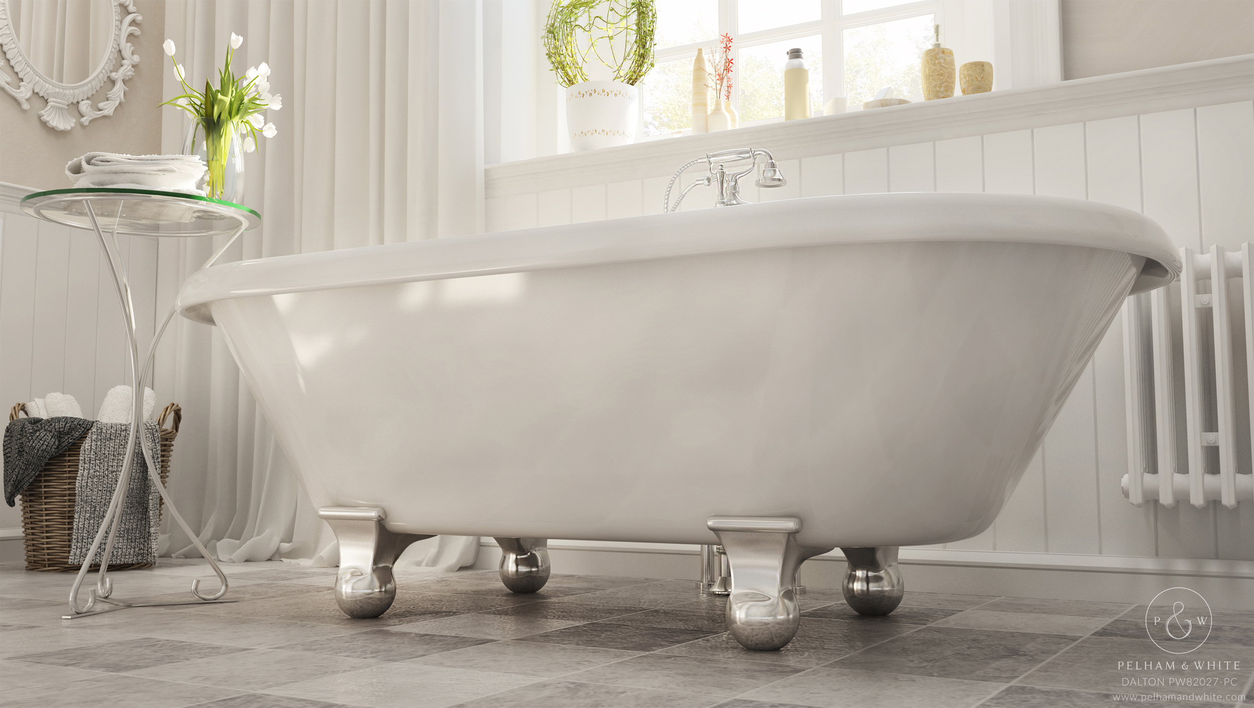 Selecting the Right Size Tub for the Space Available — Pelham and White