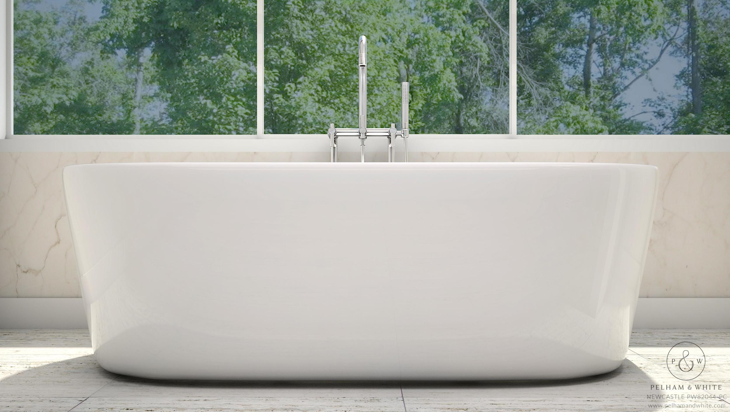 Freestanding Tubs — Pelham and White
