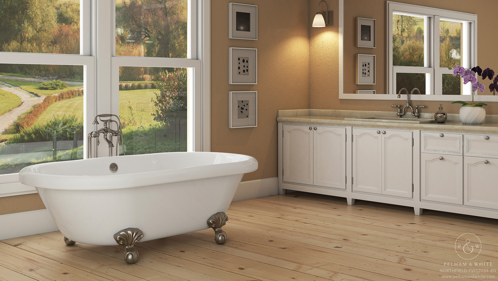 "Northfield 72"" Clawfoot Tub"