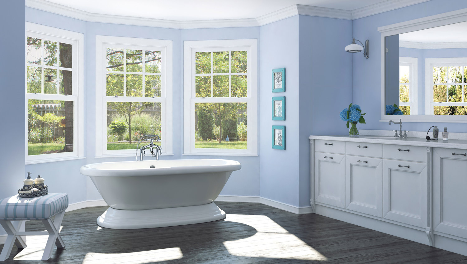 Extra Large Tubs for Large Bathrooms — Pelham and White